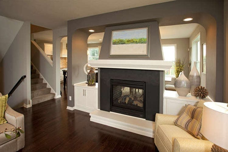 Double Sided Fireplaces Photos New, 2 Sided Fireplace Ideas