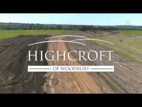 Aerial tour of highcroft of woodbury
