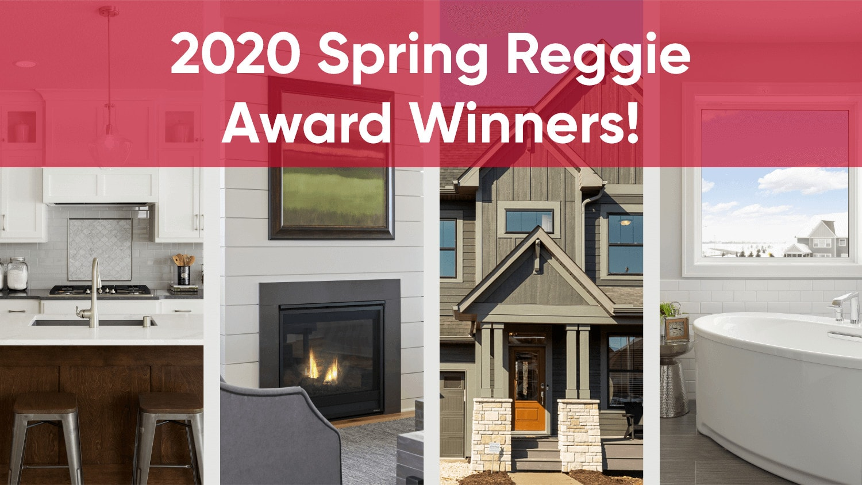 Robert Thomas Homes 2020 Spring Reggie Award Winners